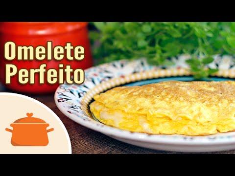 Aprenda a fazer um omelete perfeito
