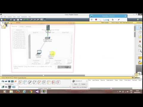 Wireless LAN in CISCO Packet Tracer