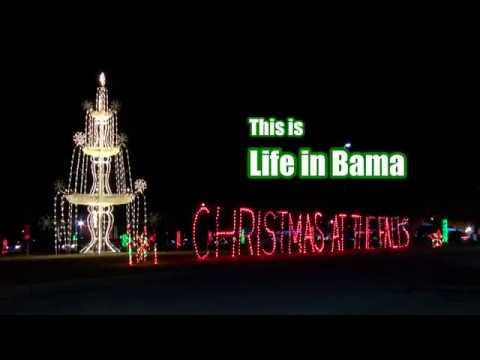 Noccalula Falls Christmas Lights!|Life In Bama   YouTube