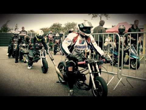 Scooter tuning drag race