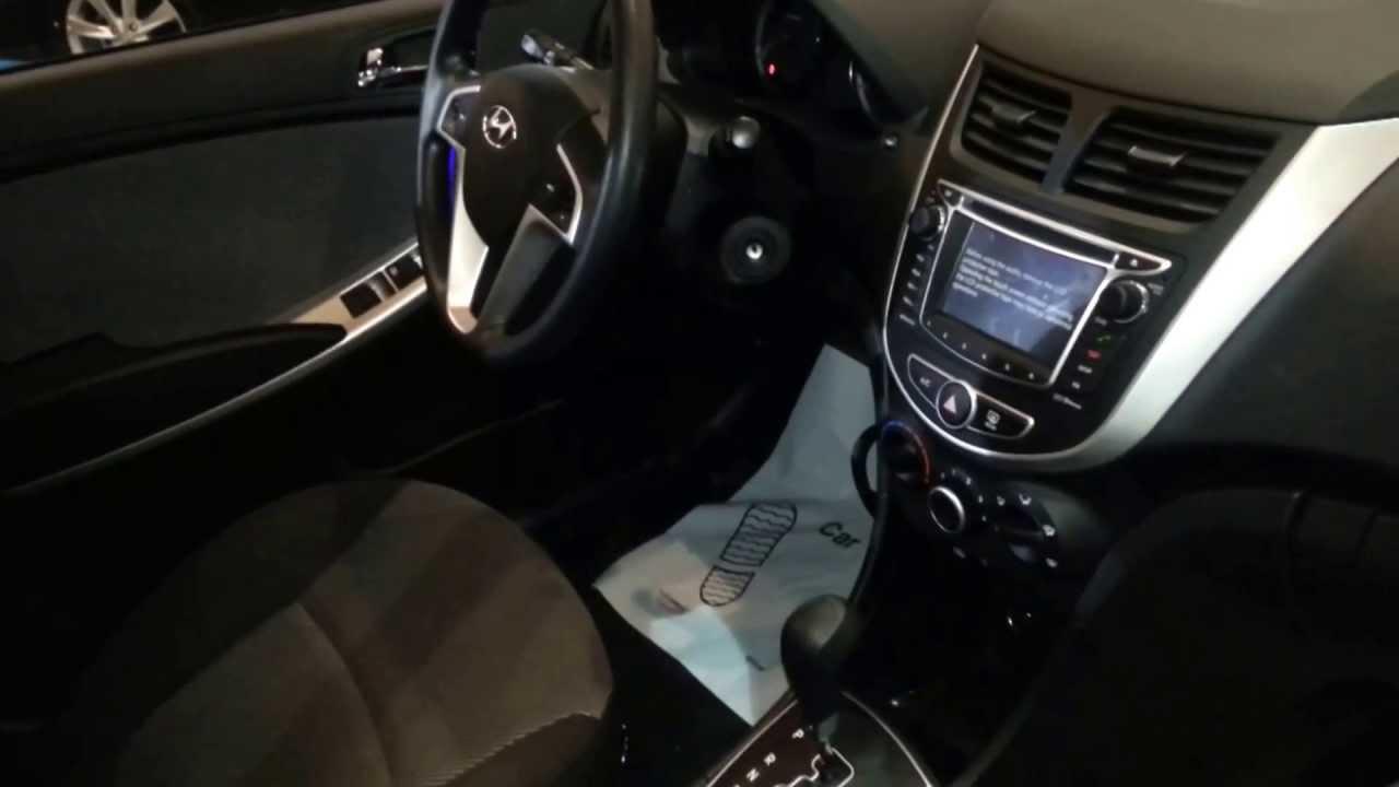 Interior Hyundai I25 Hatchback 2014 Versi 243 N Para Colombia