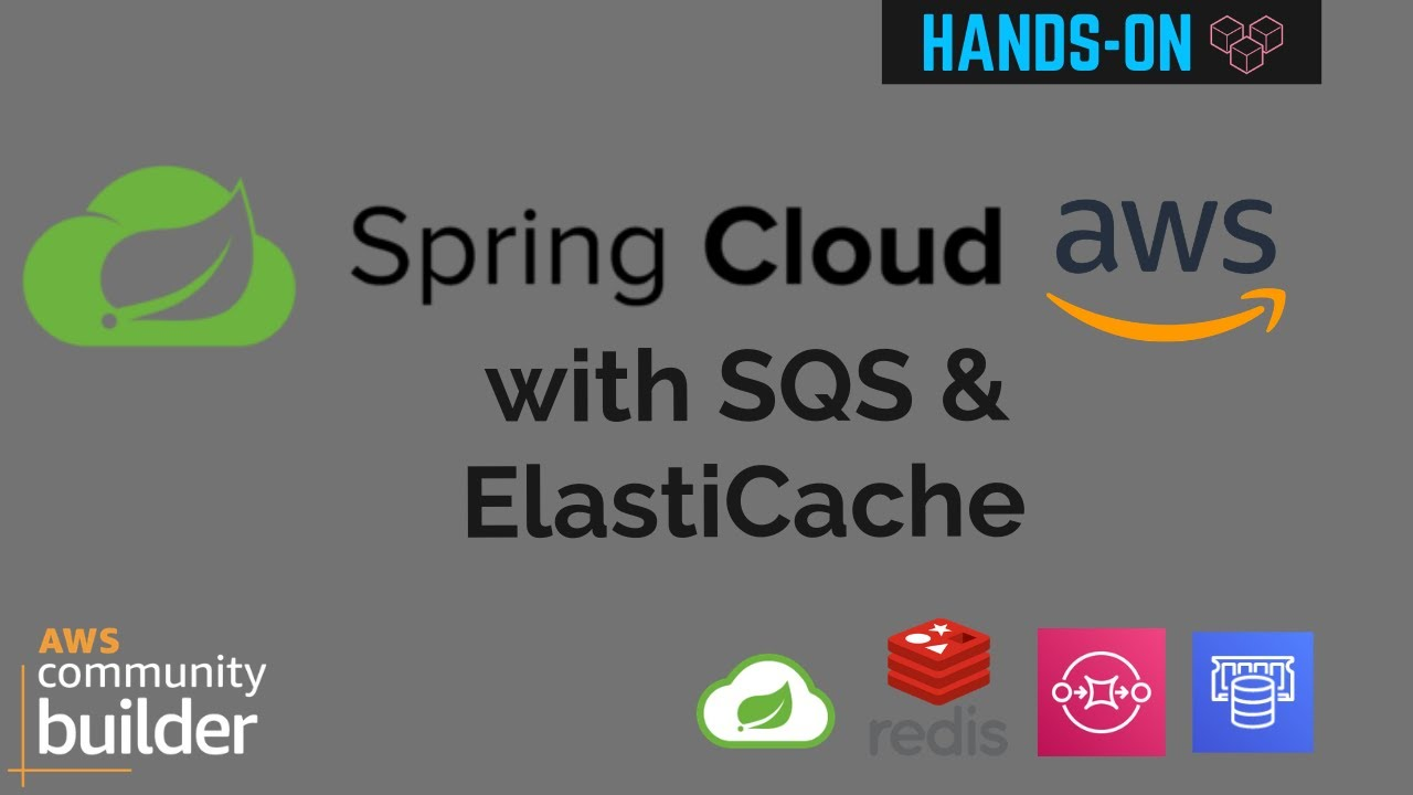Spring Cloud AWS example using SQS and ElastiCache for Redis | AWS Primer
