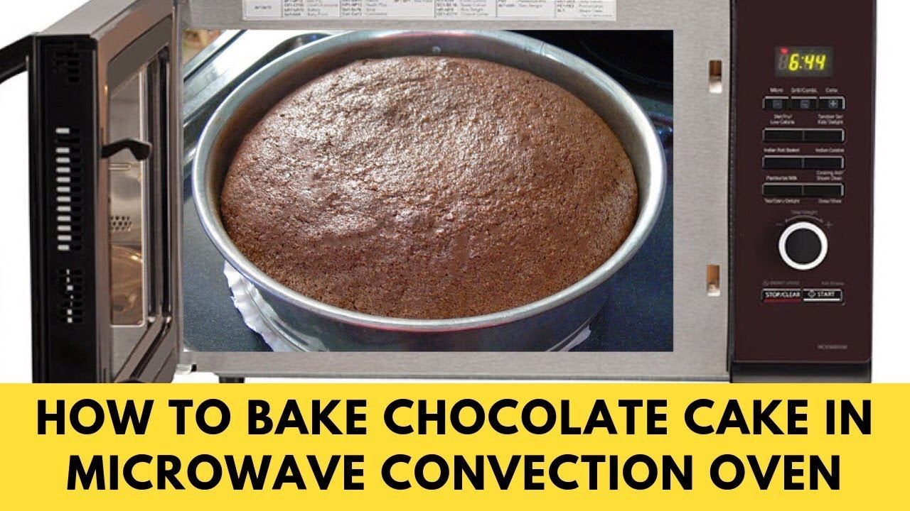 Cake In Microwave Convection Oven