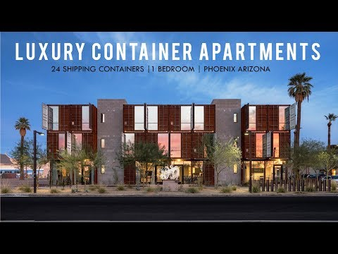1BR Converted Cargo Container #103 by WanderJaunt in Phoenix, Arizona