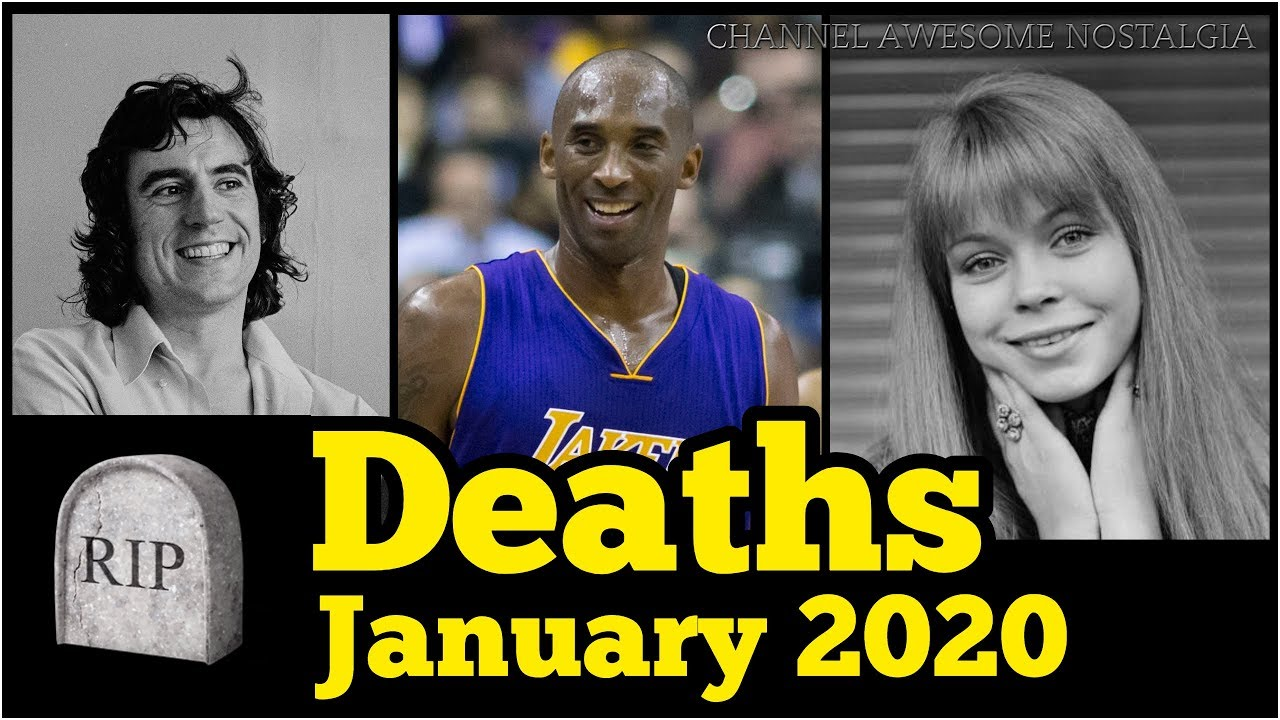 Deaths in January 2020