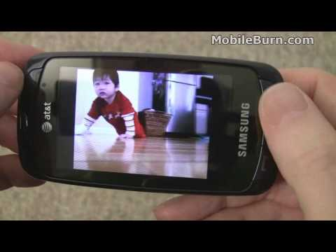Samsung a877 Impression for AT&T - part 2 of 3