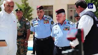 جلالة الملك يزور مديرية الأمن العام (18-6-2019)
