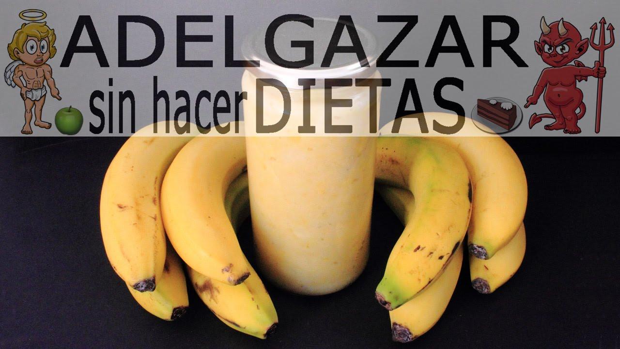 como hacer la dieta del plátano