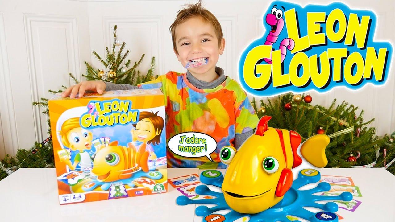 jeu leon glouton ce poisson ne fait que manger jeu de soci t et d 39 action youtube