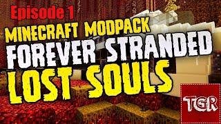Minecraft Forever stranded Lost Souls Episode 1: Hvor er jeg? [DK]