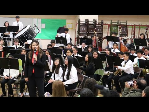 Itliong Vera Cruz Middle School IVCMS Band Winter Concert 12.6.2018