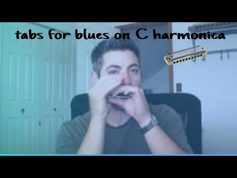 Blues Harmonica Tabs on a C harmonica