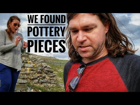 We Found Pottery Pieces at the Unexcavated Site of Antiocheia in Turkey. #Turkey #roadtrip #travel