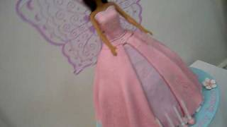 barbie fairy princess doll cake for how to make my doll cakes go to my channel