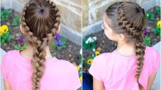 Dutch Starburst Braid | Cute Girls Hairstyles