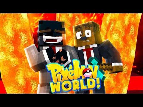 JEROME REACTS TO OUR PRANK! | Minecraft Pixelmon World SMP #9