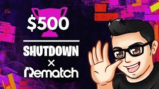 FORTNITE  SHUTDOWN CASH CUP 500$  | TORNEIO Português AO VIVO | Código : Tiruka420 #ad