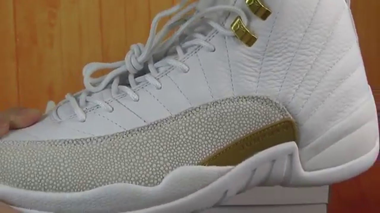 436011f50397 Air Jordan 12 OVO White Metallic Gold-white Cheap Size 10 For Sale ...