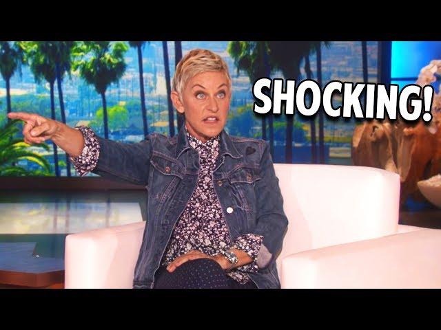 Ellen DeGeneres LOSES IT With Her Guest