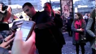 Крис Пайн и Закари Куинто на премьере фильма Стартрек: Возмездие в Москве