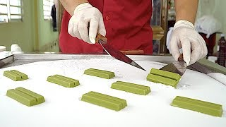 Massive Green Tea KIT KAT Ice Cream Rolls