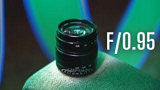 MASTER of LOW LIGHT: F/0.95 Lęns for $250!