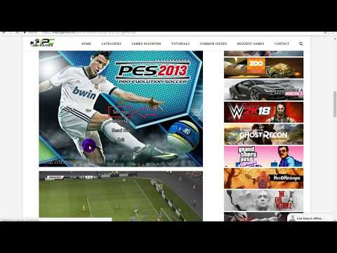 How to install Pes 2013 full version
