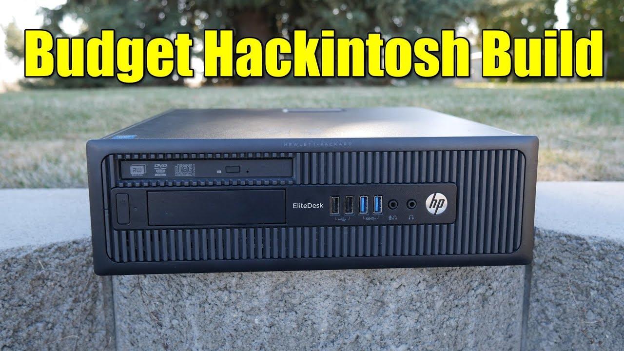 Cheap Hackintosh Build | Apple Mac OSX High Sierra Hackintosh