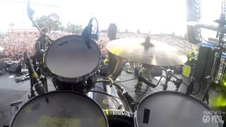 "Killer Be Killed - ""Fire To Your Flag"" Ben Koller drum cam GoPro POV"
