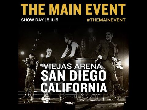 New Kids on The Block: The Main Event Tour - San Diego, CA (NKOTB)