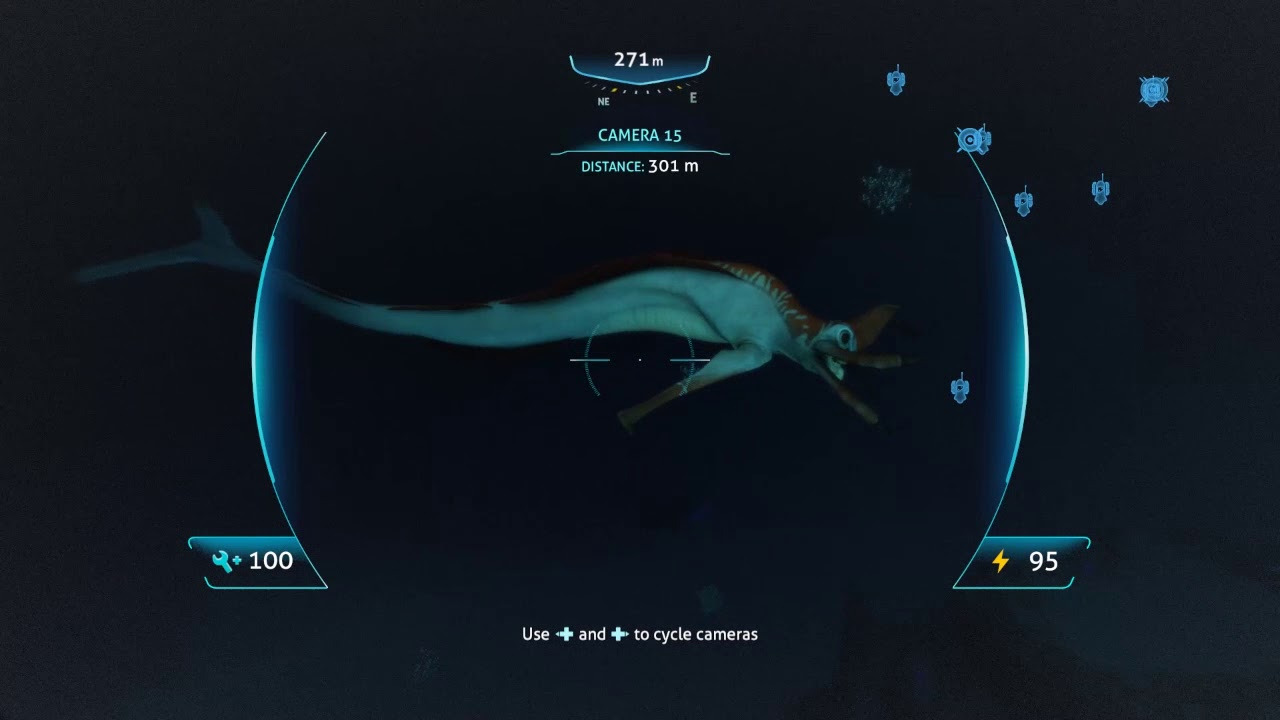 Subnautica Reaper Footage Via Scanner Room Youtube Ghost leviathan found on the grand reef using a camera. subnautica reaper footage via scanner