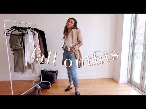[VIDEO] - FALL OUTFIT IDEAS LOOKBOOK ?| work wear, cute & casual 1
