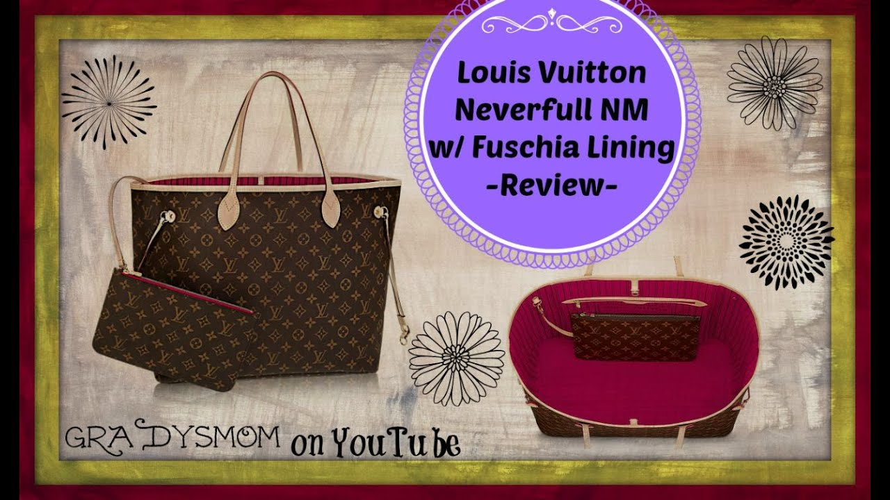 b95d89bd1123 Louis Vuitton Neverfull MM Review + What's Inside - YouTube