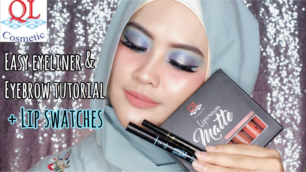 Review - QL Lip Cream Matte Nude Series & Eyebrow Cream
