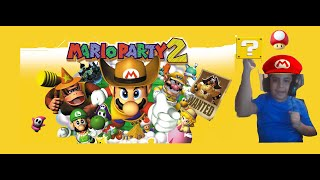 Mario Party 2 PT 1 i can never win a minigame