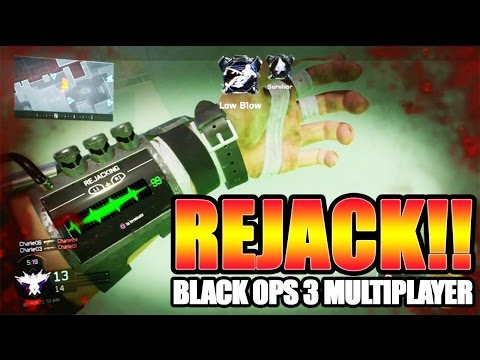 """COME BACK FROM THE DEAD IN BO3! - """"REJACK"""" Special Ability Gameplay (Black Ops 3 Specialist)"""