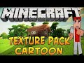 Minecraft Ps3 Cartoon Texture Pack Funny Game Play