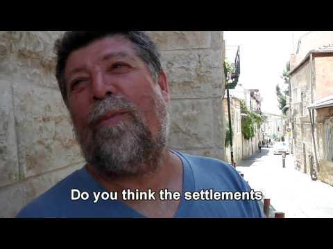 Israelis: Do settlements give Israel security?