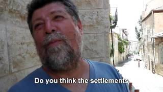 Israelis: Do settlements give Israel security?