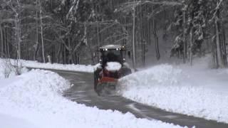 Claas Xerion 5000 Schneeräumen