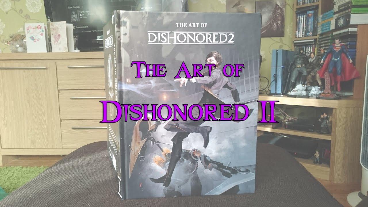 Dishonored Art Book