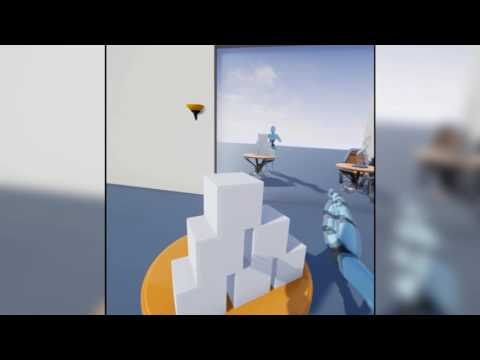 Virtual body ownership using HTC Vive and UE4