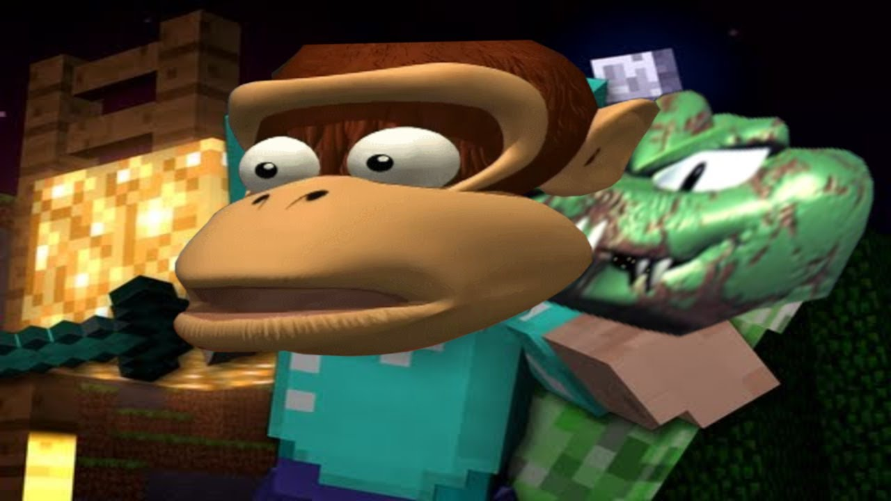 Creeper Aw Man but it's dubbed by the DK Rap