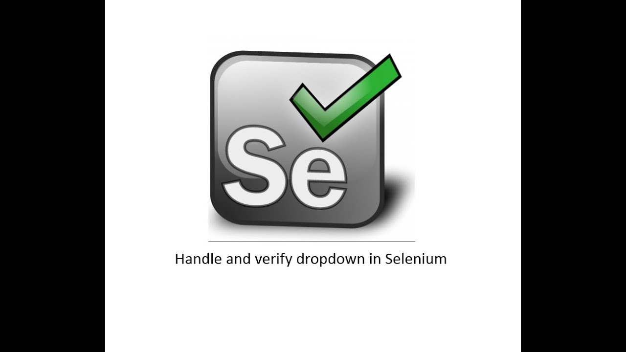 How to Select Values from Dropdown in Selenium WebDriver