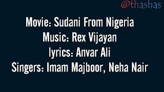 Kinavu kondoru song Lyrics - Sudani from Nigeria