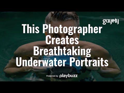 Gay Photographer Creates Amazing Underwater Portraits
