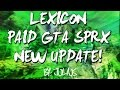 [GTA5/1.28/PS3] Lexicon Paid Mod Menu (New Update!) 3.4 Added New Options,Modder Stuff,Much More!