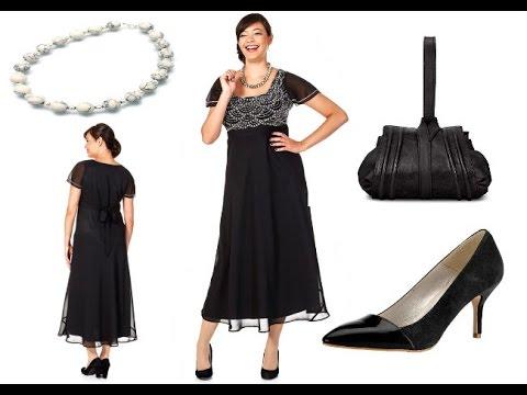 Lange Abendkleider für Mollige Frauen + Outfit Tipps - YouTube