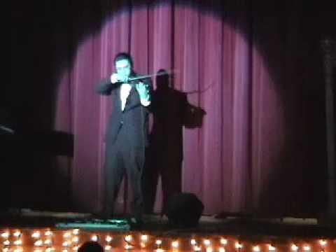 "Insane Electric Violin - Alex Mitchell performs ""Intercosm"""