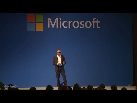 Satya Nadella keynote at Indonesia Developer Day